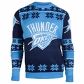 Oklahoma City Thunder Big Logo NBA Ugly Sweater
