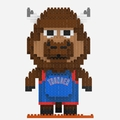 Oklahoma City Thunder NBA 3D Mascot BRXLZ Puzzle By Forever Collectibles