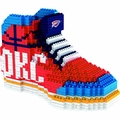 Oklahoma City Thunder NBA 3D Sneaker BRXLZ Puzzle By Forever Collectibles