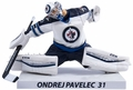 "Ondrej Pavelec (Winnipeg Jets) 2015-16 NHL 6"" Figure Imports Dragon Wave 4"