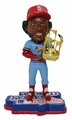 "Ozzie Smith (St. Louis Cardinals) 1982 World Series Champions Trophy 5"" Bobble Head Exclusive by Forever Collectibles"