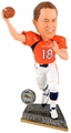 Peyton Manning (Denver Broncos) 2015 Springy Logo Action Bobble Head Forever Collectibles
