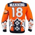 Peyton Manning (Denver Broncos) NFL Ugly Player Sweater