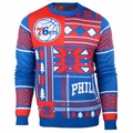 Philadelphia 76ers NBA Patches Ugly Sweater by Klew
