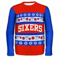 Philadelphia 76ers NBA Ugly Sweater Wordmark