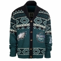 Philadelphia Eagles NFL Ugly Sweater Cardigan