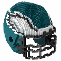 Philadelphia Eagles NFL 3D Helmet BRXLZ Puzzle By Forever Collectibles