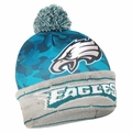Philadelphia Eagles NFL Camouflage Light Up Printed Beanies