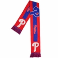 Philadelphia Phillies MLB Big Logo Scarf By Forever Collectibles