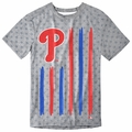 Philadelphia Phillies Big Logo Flag Tee by Forever Collectibles