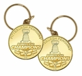 Pittsburgh Penguins 2017 Stanley Cup Champions Bronze Mint Coin Keychain