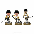 Pittsburgh Penguins 2017 Stanley Cup Champions Mini Big Head BobbleHead 3-Pack