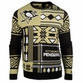 Pittsburgh Penguins NHL Patches Ugly Sweater by Klew