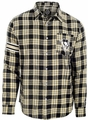 Pittsburgh Penguins Wordmark Mens Long Sleeve Flannel Shirt