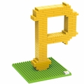 Pittsburgh Pirates MLB 3D Logo BRXLZ Puzzles By Forever Collectibles