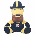 "Pittsburgh Steelers Hide-A-Blanket 18"" Mascot by FOCO"