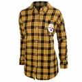 Pittsburgh Steelers NFL Women's Wordmark Long Sleeve Flannel Shirt
