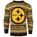 Pittsburgh Steelers NFL Aztec Ugly Crew Neck Sweaters by Forever Collectibles