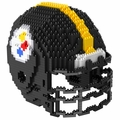 Pittsburgh Steelers NFL 3D Helmet BRXLZ Puzzle By Forever Collectibles