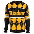 Pittsburgh Steelers NFL Argyle Sweater CLARKtoys Exclusive