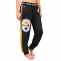 Pittsburgh Steelers NFL Poly Fleece Women's Jogger Pant by Klew