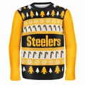 Pittsburgh Steelers NFL Ugly Sweater Wordmark