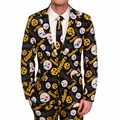 Pittsburgh Steelers NFL Repeat Logo Ugly Business Suit by Forever Collectibles
