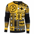 Pittsburgh Steelers Patches NFL Ugly Sweater by Klew