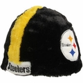 Pittsburgh Steelers Plush Cozy Helmet Hat by Forever Collectibles