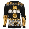 Pittsburgh Steelers NFL Super Bowl Commemorative Crew Neck Sweater