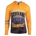 Pittsburgh Steelers Super Bowl X Champions Poly Hoody Tee