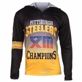Pittsburgh Steelers Super Bowl XIII Champions Poly Hoody Tee