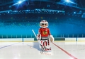 Playmobil NHL Chicago Blackhawks Goalie