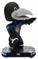 Poe (Baltimore Ravens) Mascot 2017 NFL Headline Bobble Head by Forever Collectibles