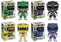 Power Rangers Funko Pop! Series 1 Complete Set (4)