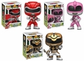 Power Rangers Funko Pop! Series 2 Complete Set (3)