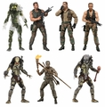 "Predator 30th Anniversary 7"" Scale Action Figure Complete Set (7) by NECA"