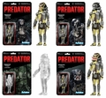 Predator (Set of 4) ReAction 3 3/4-Inch Retro Action Figures