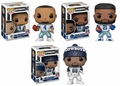 Prescott/Elliott/Bryant (Dallas Cowboys) NFL Funko Pop! Series 4 Combo