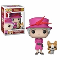Queen Elizabeth II w/Beloved Corgi Funko Pop! Royals