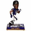 Ray Lewis (Baltimore Ravens) 2016 NFL Legends Bobble Head by Forever Collectibles