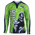 Richard Sherman #25 (Seattle Seahawks) NFL Player Poly Hoody