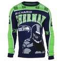 Richard Sherman #25 (Seattle Seahawks) NFL Player Ugly Sweater
