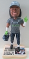 Richard Sherman (Seattle Seahawks) Super Bowl XLVIII Champ T-Shirt/Hat Exclusive Bobblehead #/500