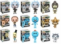 Rick and Morty Complete Set w/CHASES (9) Funko Pop!
