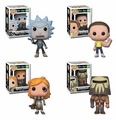 Rick and Morty Series 4 Complete Set (4) Funko Pop!