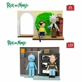 Rick And Morty Small Set Complete Set (2) McFarlane Construction Set