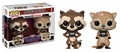 Rocket and Lylla (Guardians of the Galaxy: The Telltale Series) Funko Pop! 2 pack