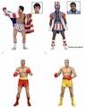 Rocky 40th Anniversary Series 2 Complete Set (4) by NECA
