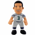 "Russell Wilson (Seattle Seahawks - Alternate Silver Jersey) 10"" Player Plush Bleacher Creatures"